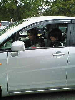 軽自動車で出発02